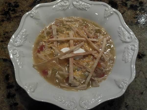 Chicken Tortilla Soup Or Tortilla Chile Soup Recipe