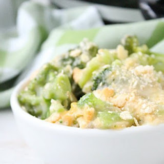 Crock Pot Broccoli and Cheese Casserole.