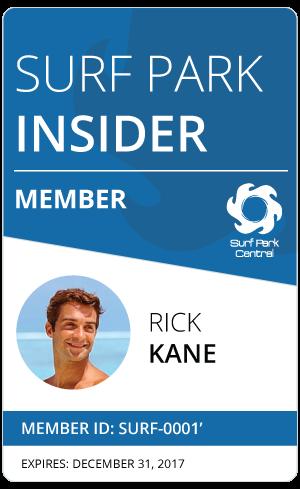Surf Park Insider Member ID