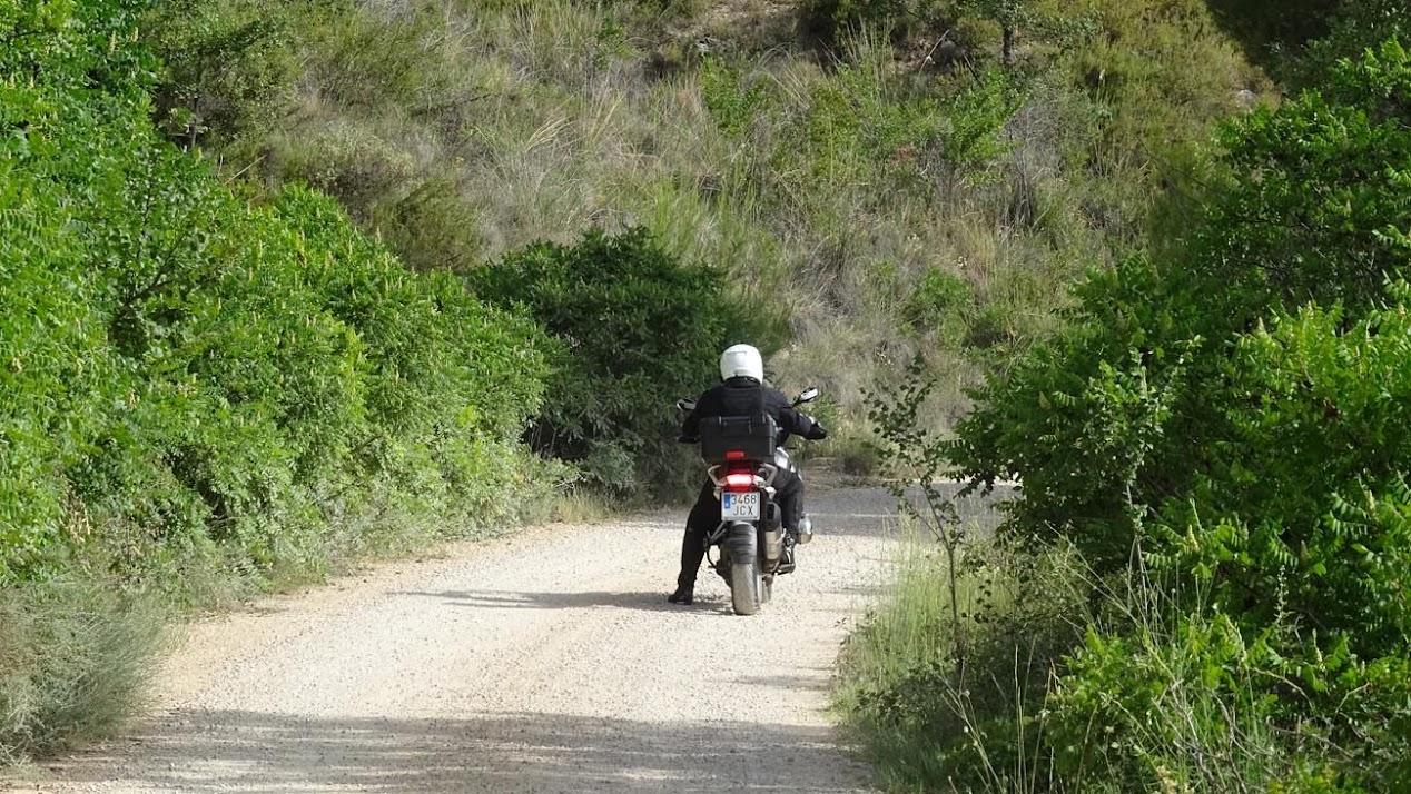 camino hacia Hontanillas