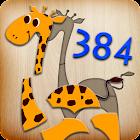 384 puzzle per bambini icon