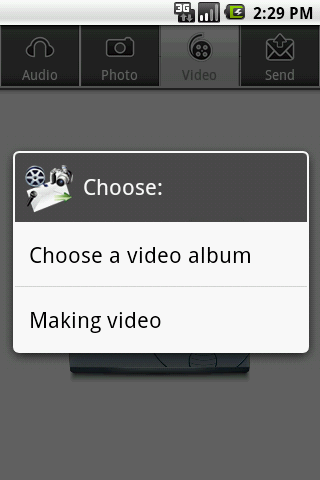 Audio,Photo,Video to EMail PRO screenshot 6