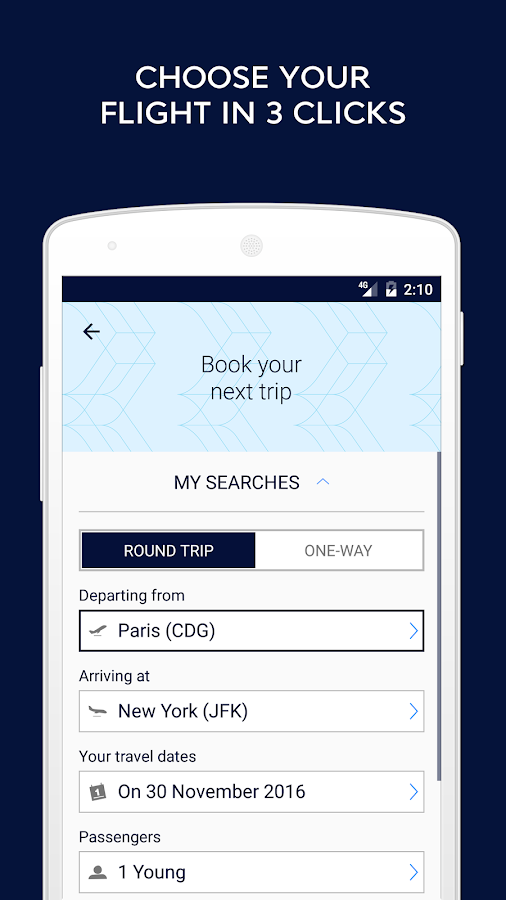 Air France - Airline tickets- screenshot