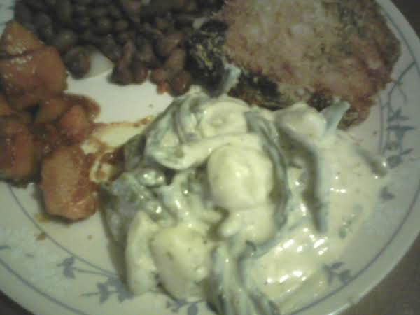 Creamy Green Beans And Potatoes