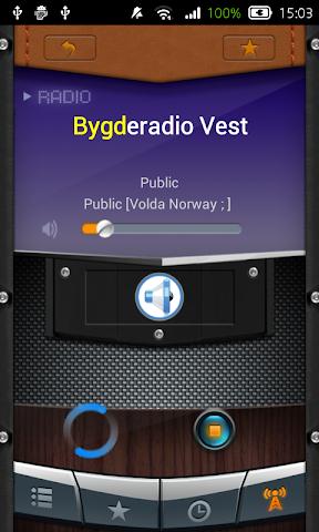 android Radio Norway Screenshot 1