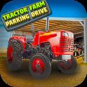 Tractor Farm Parking Drive icon