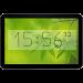Bézier Clock live widget free icon