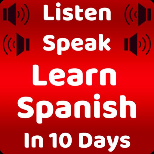 Learn Spanish Speaking: English to Spanish Icon