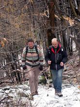 Photo: la guide et son adjoint concentrés comme toujours !
