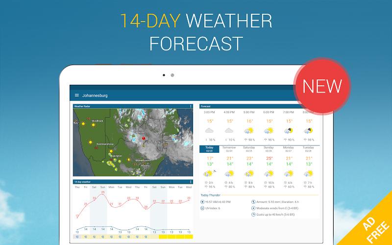 Weather & Radar Pro - Ad-Free Screenshot 10