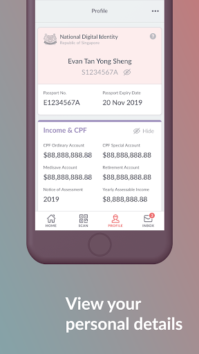 SingPass Mobile screenshot 4