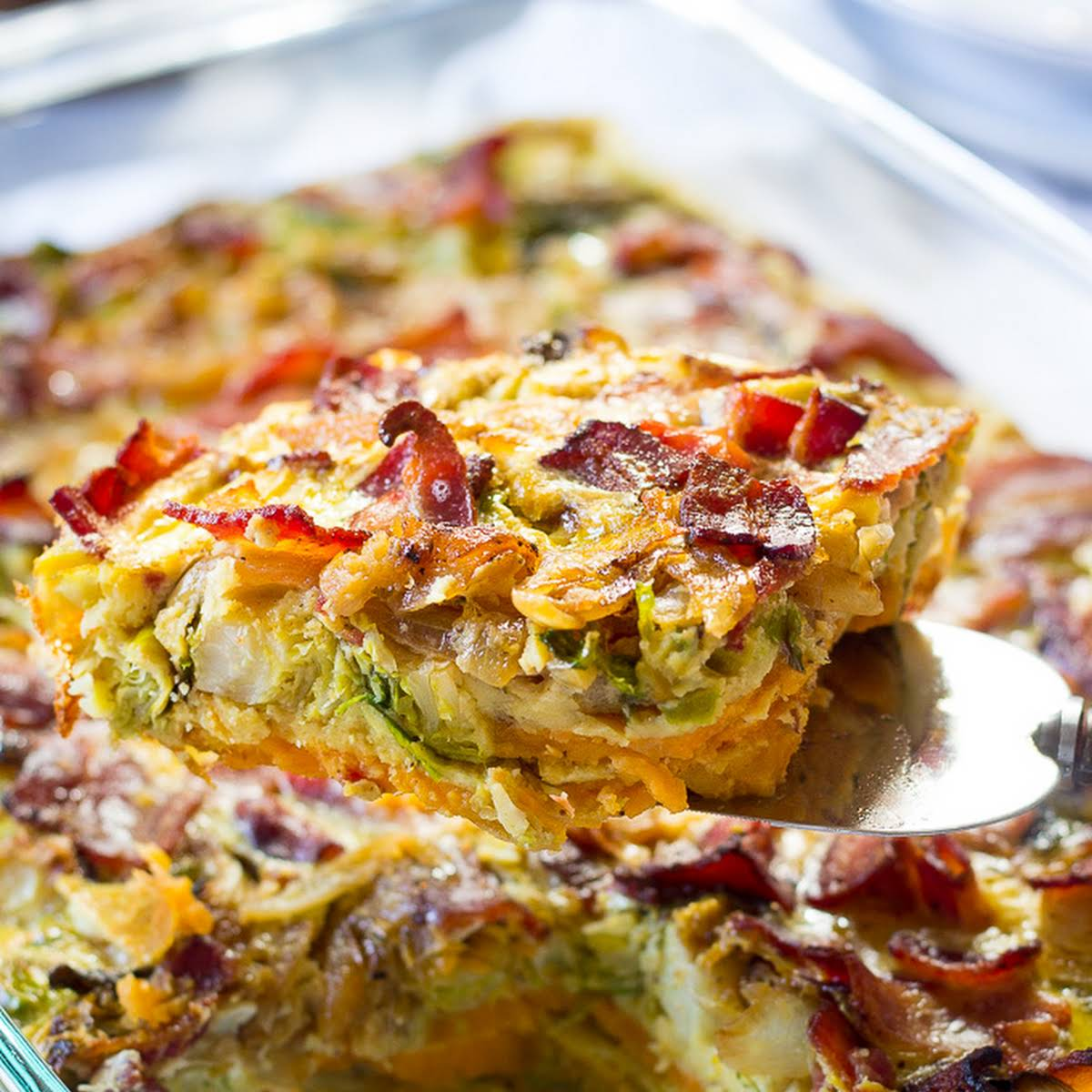 Paleo Breakfast Casserole Whole30