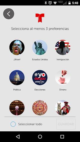 android Noticias Telemundo Screenshot 1