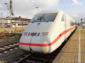 "Photo: Tz 208 ""Bonn"" (DB), ICE Berlin Hbf - Koblenz Hbf {Hamm (Westf); 2015-09-23}"
