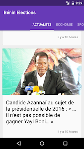 Bénin News screenshot 1