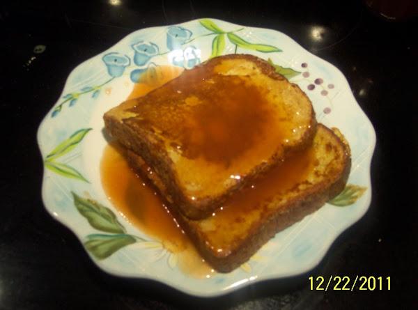 Apple Cinnamon Butter Syrup Recipe