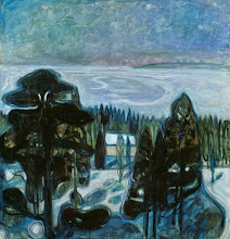 "Photo: Edvard Munch, ""Notte bianca"""