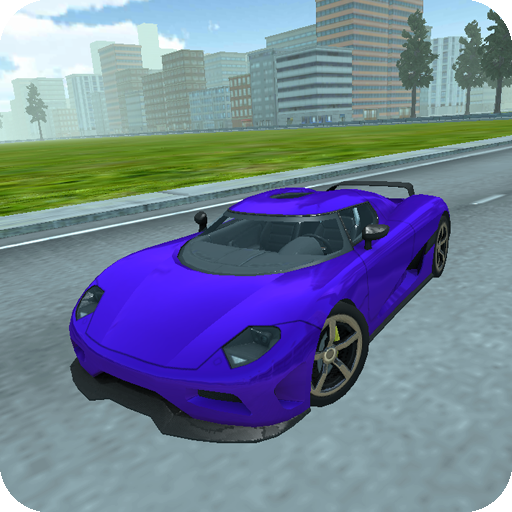 Real City Car Driving 3D Icon