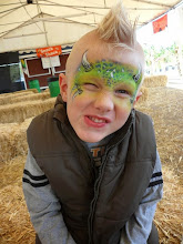 Photo: Monster face paint by Heidi on Halloween.Book Heidi by calling 888-750-7024