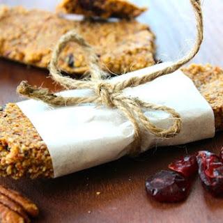 Organic Granola Bars ~ Gluten Free & Grain Free