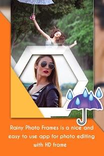 Rainy Photo Editor : Rain Photo Frame - náhled