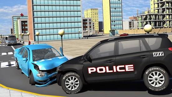 City Crime Gang vs Police Car - náhled