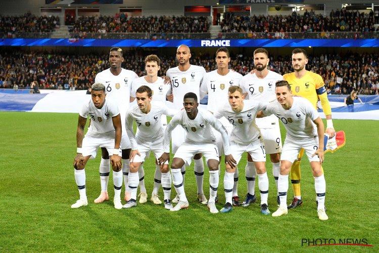 Un champion du monde forfait pour le choc face à l'Allemagne