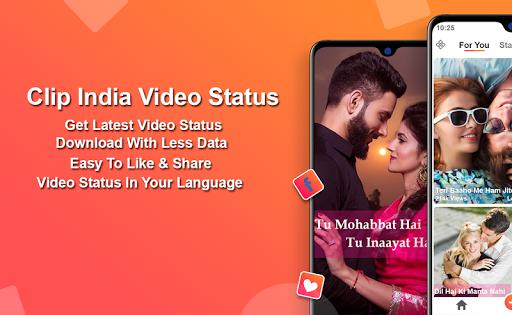 Clip India Video Status screenshot 1