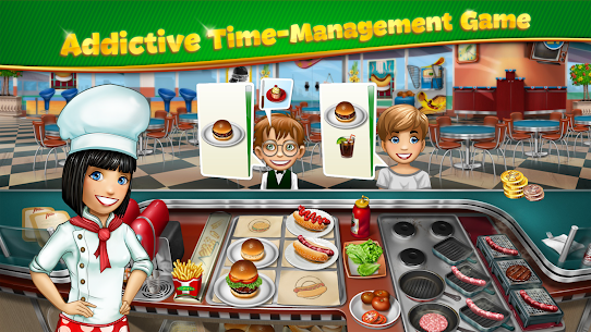 Cooking Fever Mod Apk 10.0.0 (Unlimited Coins + Gems) 1