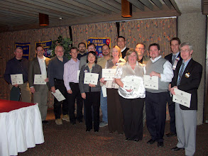 Photo: This fine group were Honour Roll Donors for Research Promotion