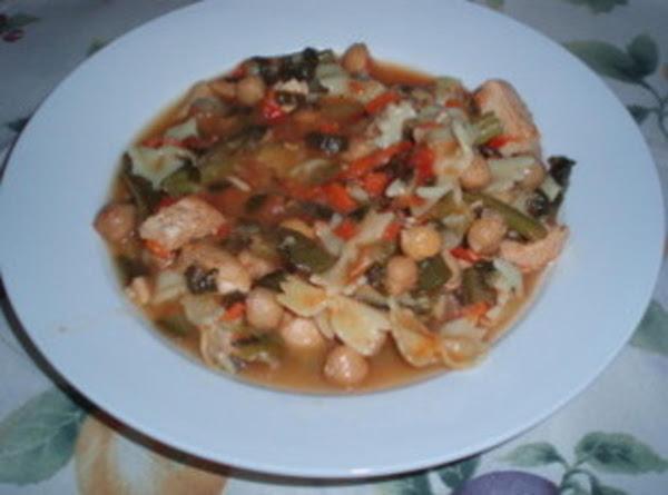 Chicken Vegetable Minestrone Recipe