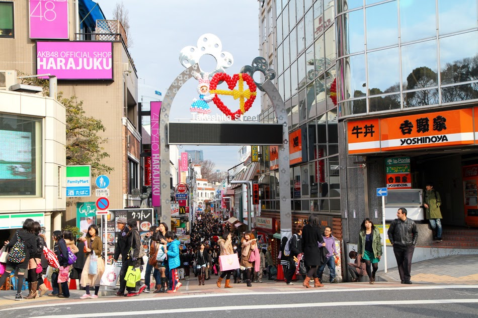 Shibuya to Harajuku by heiyanan, on Flickr