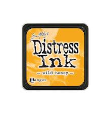 Tim Holtz Distress Mini Ink Pad - Wild Honey