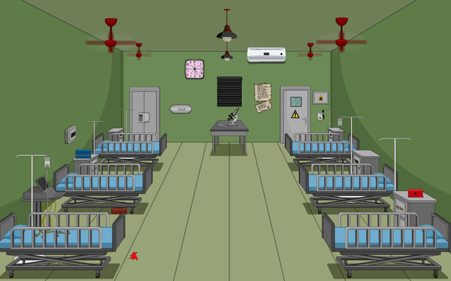Escape puzzle hospital rooms android apps on google play for Escape puzzle