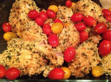 Baked Chicken and Tomato Medley