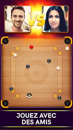 Disc Pool Carrom - Crokinole  captures d'u00e9cran 1
