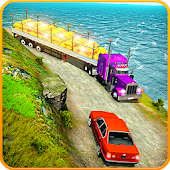 Gold Transport Truck Driving 2019: Up Hill Truck Android APK Download Free By Trapez Blow