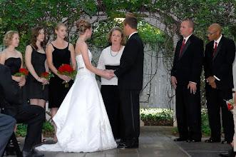 Photo: Ceremony in Progress - Twiggs - Greenville - 9-09 -  Photo Courtesy of: Tony L. Moore Photography