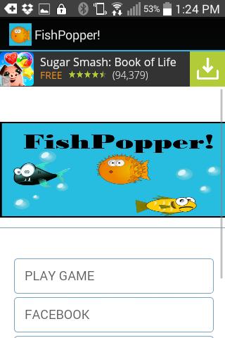FishPopper Fish Smasher Game