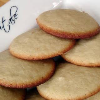 Soft Vanilla Sugar Cookies.