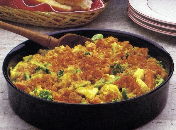 Cheesy Vegetable Casserole (oven Version) Recipe