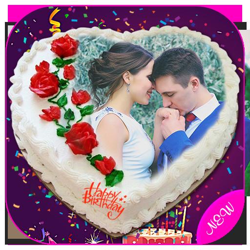 App Insights Name Photo On Birthday Cake Hd Frames Apptopia
