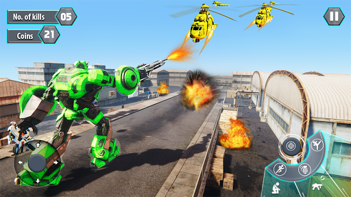 Us Army Robot FPS Shooting Strike Game 3D 2020 android2mod screenshots 8