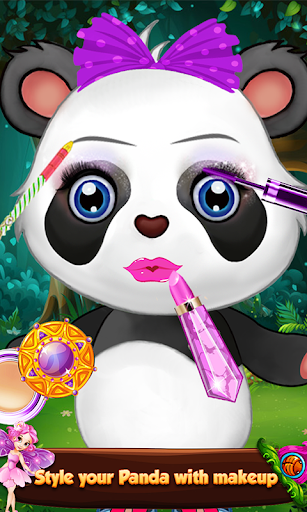 Panda Makeup Salon Games: Pet Makeover Salon Spa 1.01.0 screenshots 4