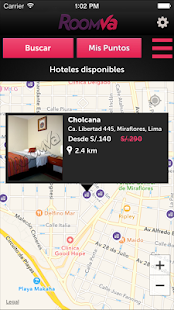 RoomVa – Last minute hotels- screenshot thumbnail