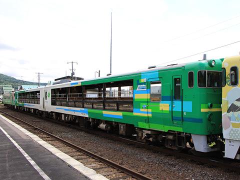 JR北海道 観光列車「風っこそうや」 音威子府にて_04