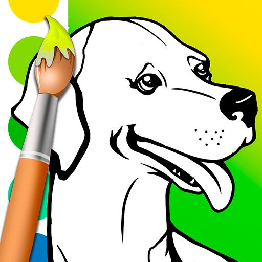 приложения в Google Play раскраски собаки
