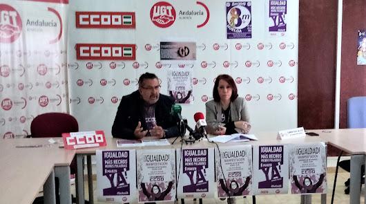 UGT y CCOO se movilizarán por la igualdad el próximo 8 de marzo