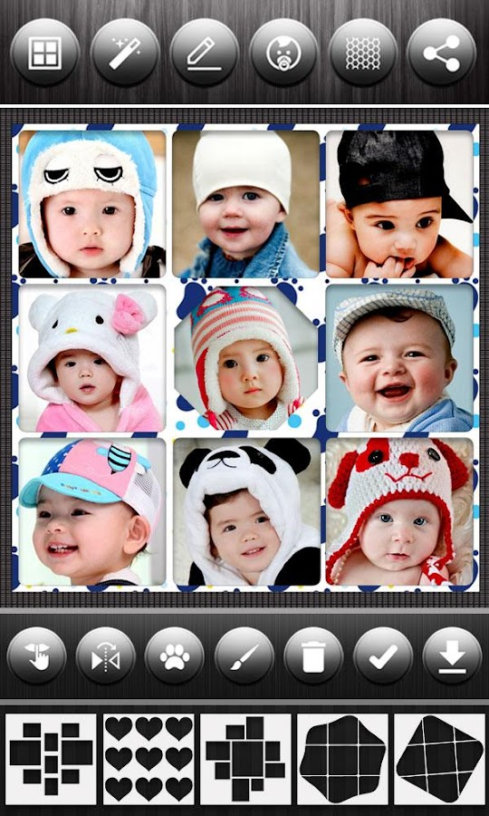 Baby Photo Collage Editor- screenshot
