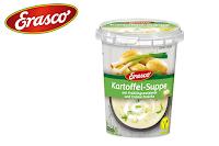 Angebot für Kartoffel-Suppe im Supermarkt
